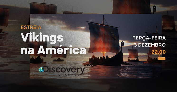 Vikings na America Estreia no Discovery Channel