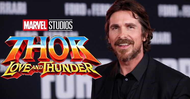 Christian Bale no elenco de Thor: Love and Thunder