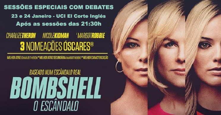 Debates sobre o filme Bombshel: O Escândalo