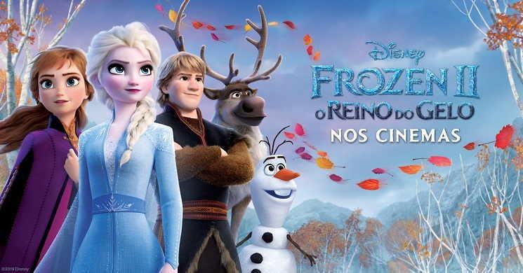 Frozen II filme animado com mais receitas de bilheteira de sempre