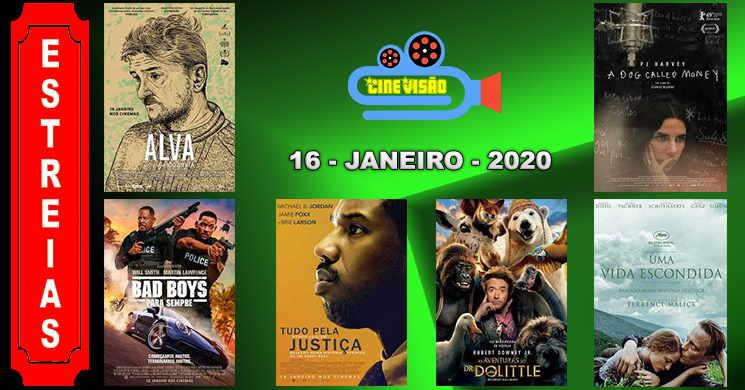 Estreias de filmes nos cinemas portugueses: 16 de janeiro de 2020