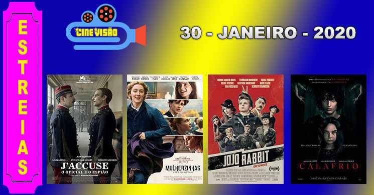 Estreias de filmes nos cinemas portugueses: 30 de janeiro de 2020