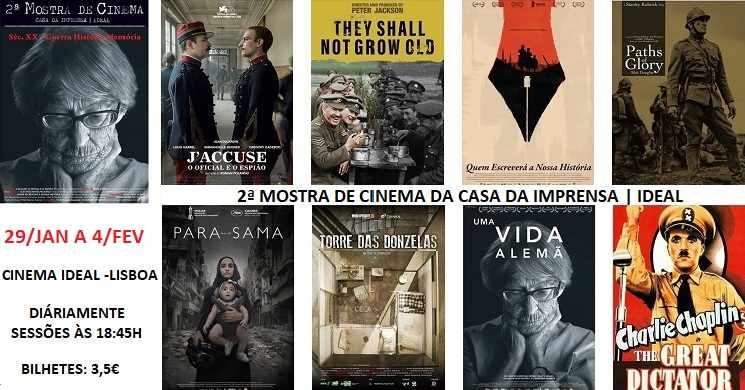 Arranca hoje mais uma edição da Mostra de Cinema Casa da Imprensa | Ideal