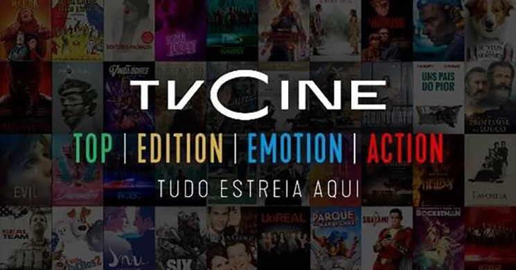 Canais TVCine com novas identidades e programação a partir de 14 de janeiro