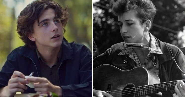 Timothée Chalamet vai interpretar um jovem Bob Dylan na cinebiografia
