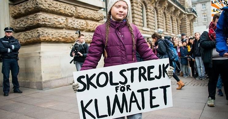 BBC vai produzir série documental sobre a ativista sueca Greta Thunberg