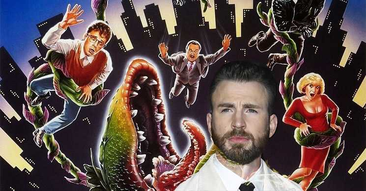 Chris Evans no remake do filme A Lojinha dos Horrores