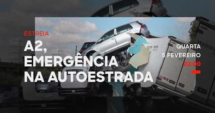 Estreia da série A2, Emergência na Autoestrada