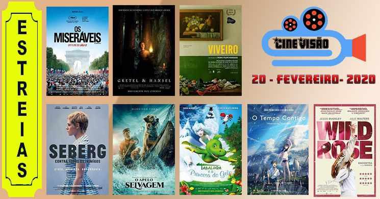 Estreias de filmes nos cinemas portugueses: 20 de fevereiro de 2020
