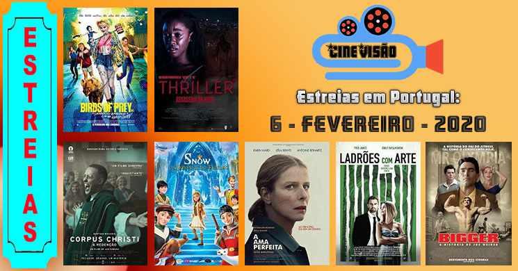 Estreias de filmes nos cinemas portugueses: 6 de fevereiro de 2020