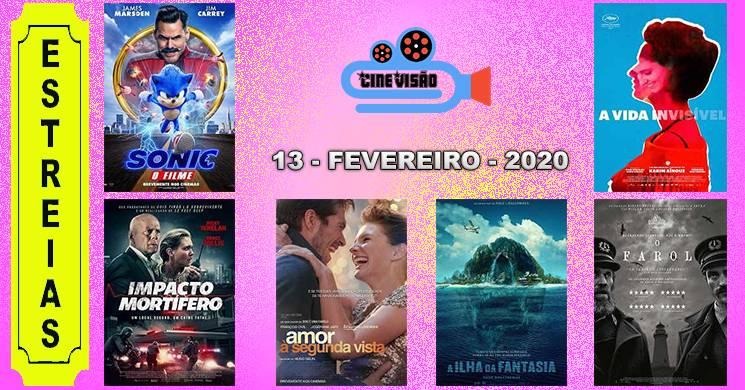 Estreias de filmes nos cinemas portugueses: 13 de fevereiro de 2020