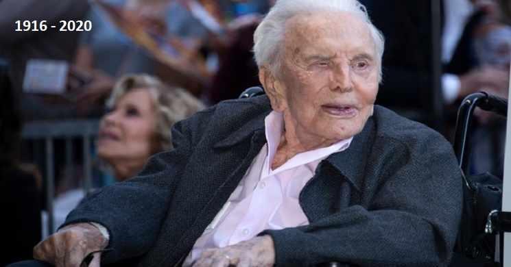 Morreu o ator Kirk Douglas. Lenda do cinema tinha 103 anos.