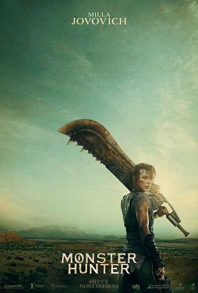 Poster Milla Jovovich do filme Monster Hunter
