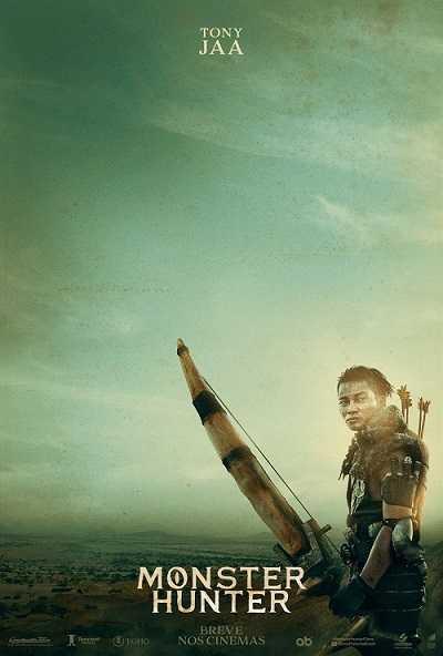 Poster Tony Jaa do filme Monster Hunter