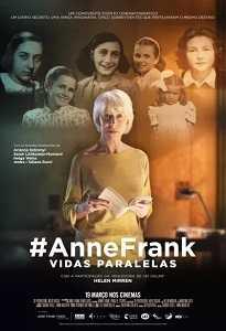 Poster do filme #AnneFrank - Vidas Paralelas