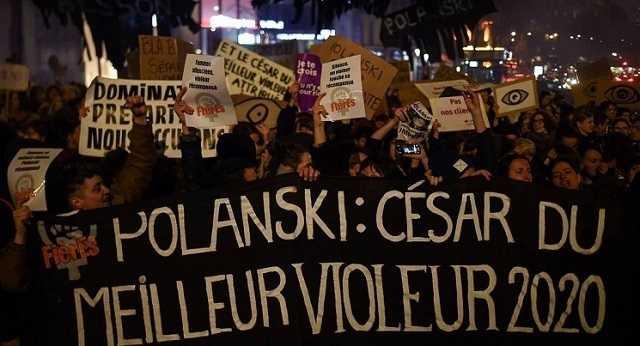 Protestos contra Polanski nos Prémios César