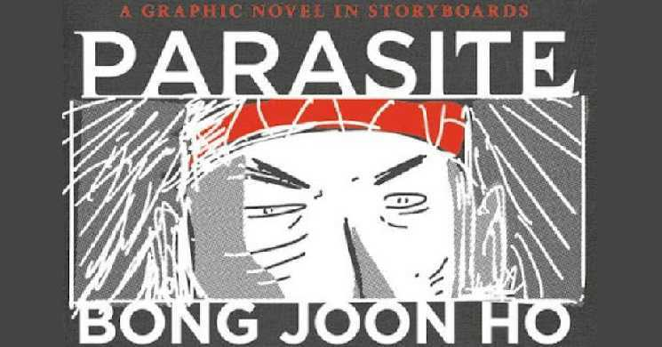 Storyboard de Parasitas editado num romance grafico