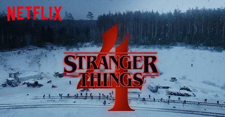 Teaser da temporada 4 da serie Stranger Things