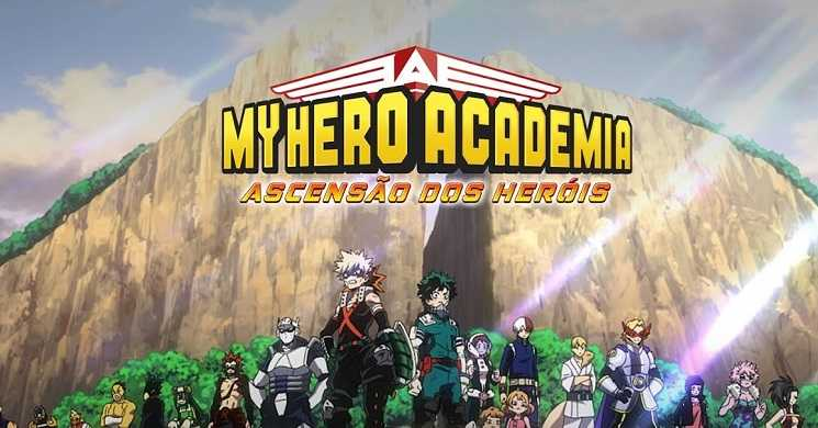 Trailer português do filme My Hero Academia: Ascensão dos Heróis