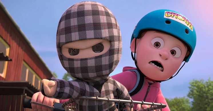 Trailer português do filme O Meu Amigo é Ninja