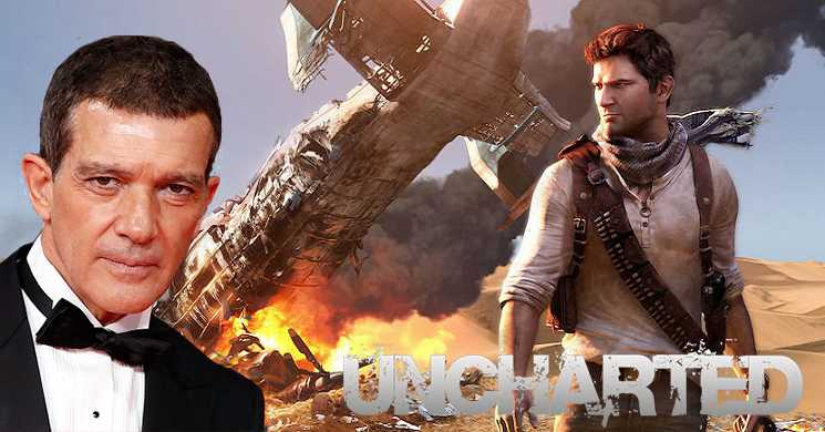 Antonio Banderas no elenco de Uncharted