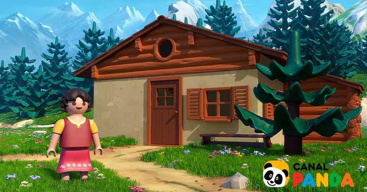 Canal Panda estreia Heidi Playmobil