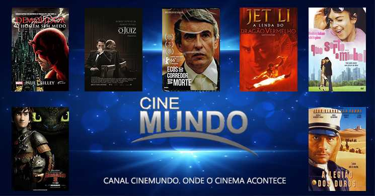 Um filme por dia: Destaques do Canal Cinemundo de 16 a 22 de março