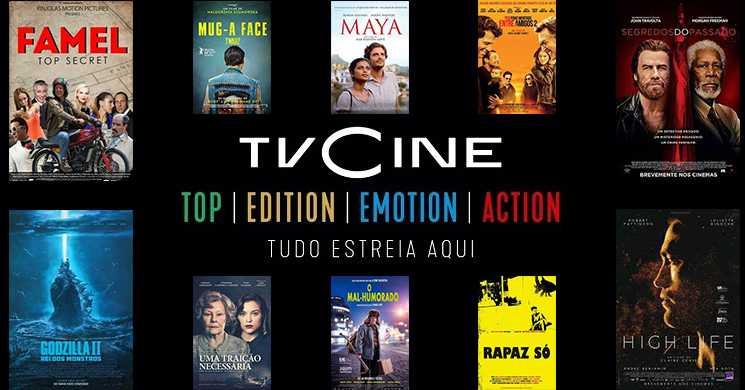 Destaques da programação dos Canais TVCine de 16 a 22 de março