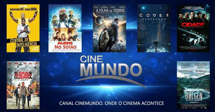 Destaques Canal Cinemundo 23 a 29 de março