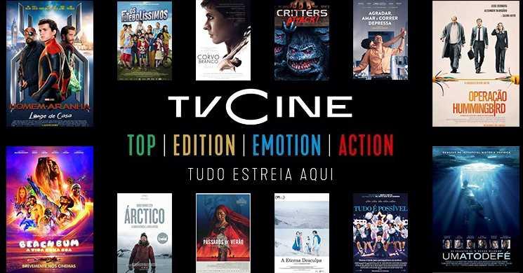 O que pode ver nos Canais TVCine. Destaques da semana de 23 a 29 de março