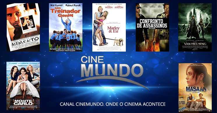 Um filme por dia: Destaques do Canal Cinemundo para esta semana