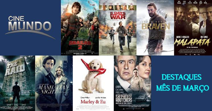 Canal Cinemundo: Os destaques para este mês de março