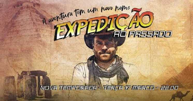 Estreia da T4 da série Expedição ao Passado