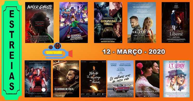 Estreias de filmes nos cinemas portugueses: 12 de março de 2020
