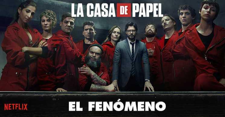 Filme La Casa de Papel: El Fenómeno estreia a 3 de abril