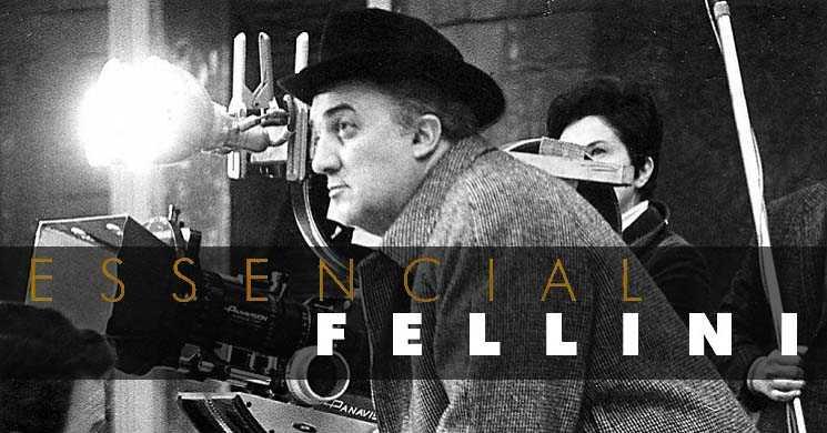 Seis filmes de Federico Fellini nos cinemas