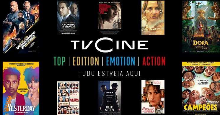 Destaques dos Canais TVCine de 6 a 12 de abril