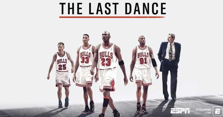 Estreia da série The Last Dance
