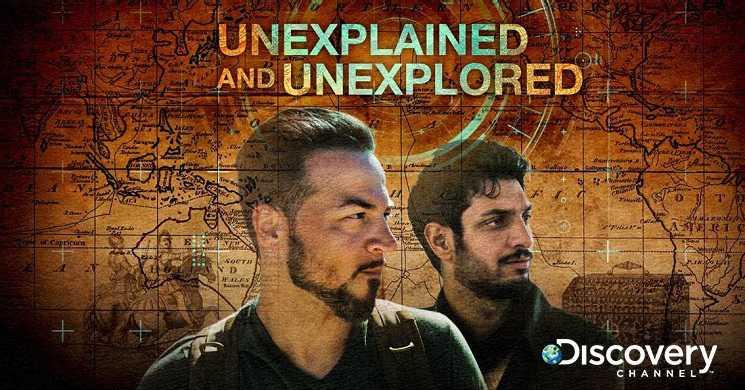 Estreia da serie Unexplained and Unexplored