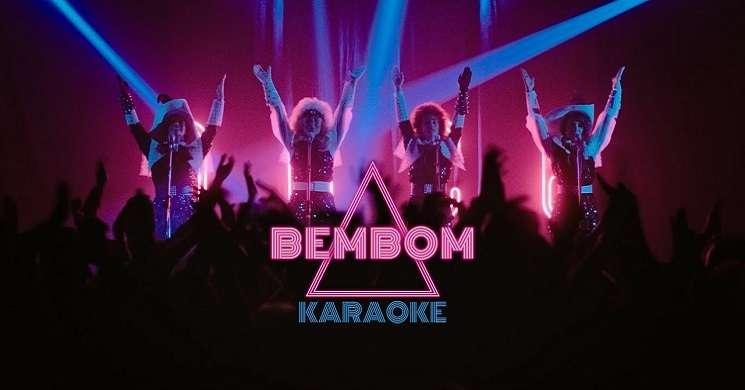 Imagens do filme Bem Bom em karaoke