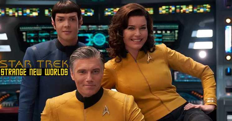 CBS encomenda serie Star Trek Strange New Worlds