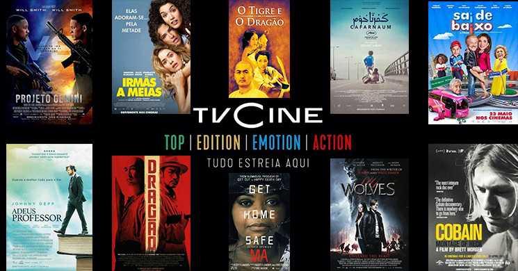 Filmes em destaque na programação dos Canais TVCine de 18 a 24 de maio