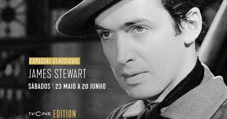 """""""Especial Clássicos: James Stewart"""": 23 de maio a 20 de junho no TVCine Edition"""