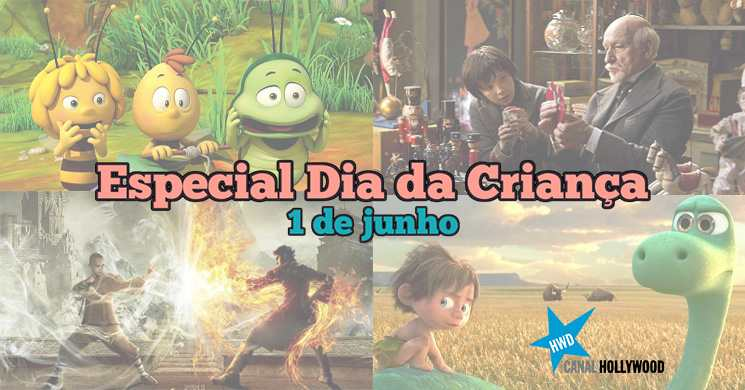 Dia da Criança:  Canal Hollywood preparou um especial para os mais novos