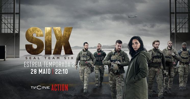 Estreia da temporada 2 da série Six