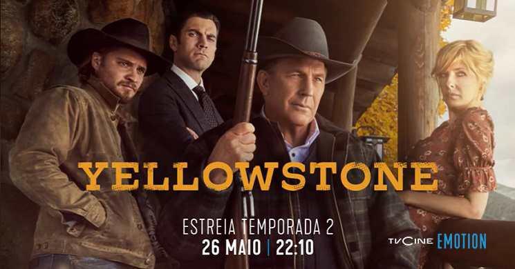 Estreia da temporada 2 da série Yellowstone