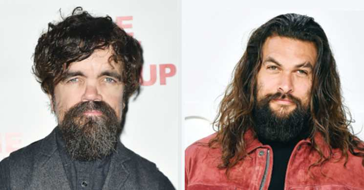 Peter Dinklage e Jason Momoa no filme Good Bad $ Undead