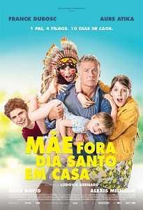 Poster do filme Mãe Fora. Dia Santo em Casa