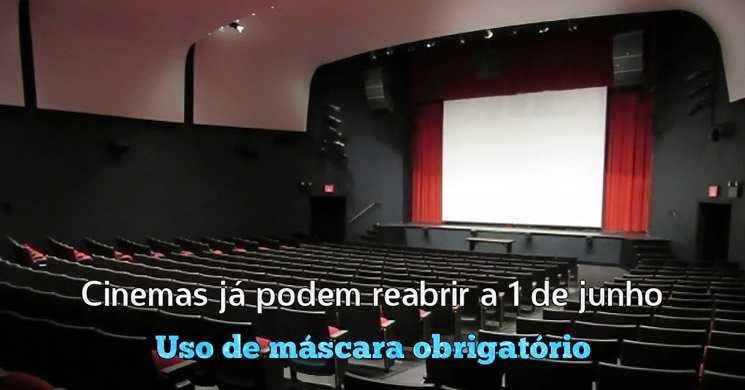 Cinemas já podem reabrir a partir de 1 de junho. Conheça as regras