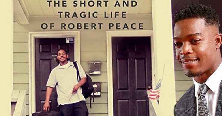 Stephan James protagonista do filme Rob Peace